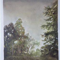 "Dawn - Oils on paper 9""x 12"""